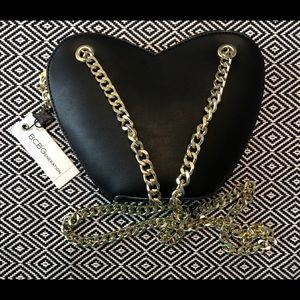 NWT BCBGeneration Heart Purse